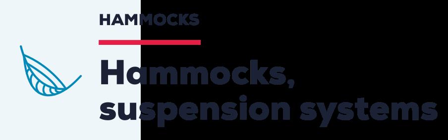 Hammocks, suspension systems