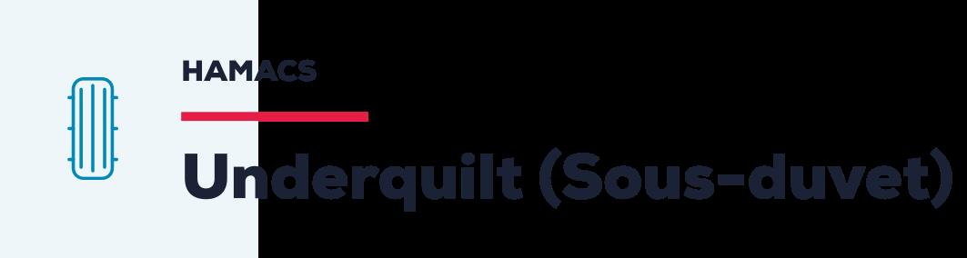 Underquilt (Sous-duvet)