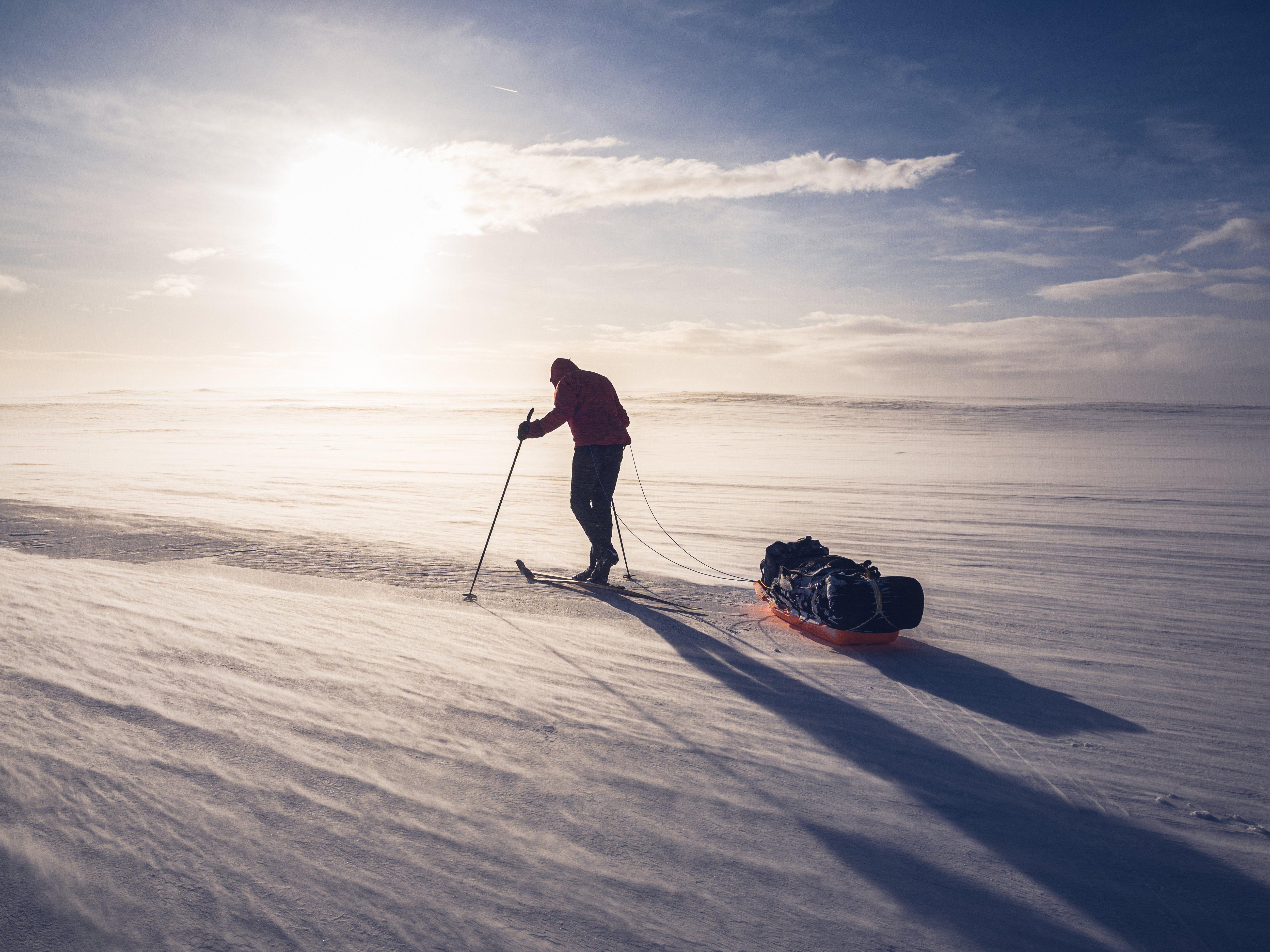 Zimowe przejście Islandii | Łukasz Supergan